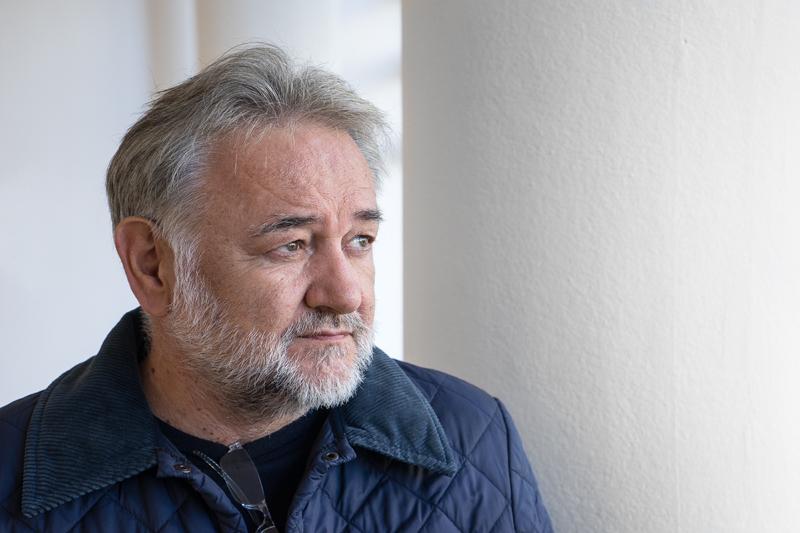 portrait of my friend -photographer Goran Kukic