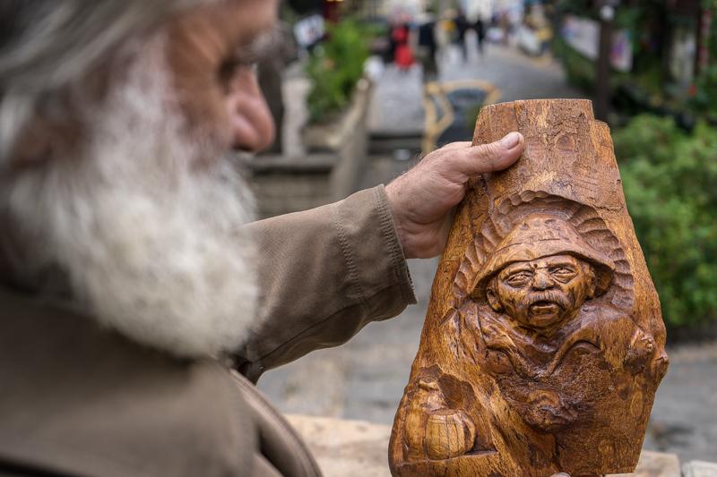 portrait of a sculptor – Stevo Radelic